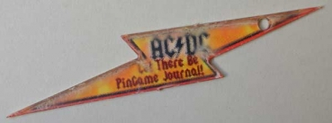 AC/DC - Promo Keychain 'Let there be Pingame Journal'