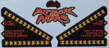 Attack from Mars - Apron Decals