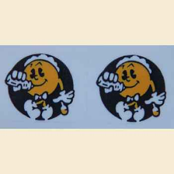 Baby Pac Man - Spinnerdecal