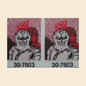 Black Knight - Targetsticker - 12 Stck.