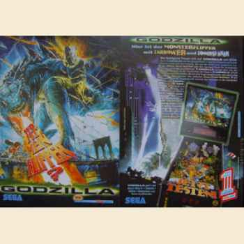 Godzilla - Flyer deutsch