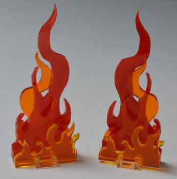 Flammen - Mod für Stern Kiss und Games of Thrones