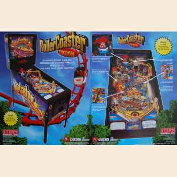 Roller Coaster Tycoon - Flyer