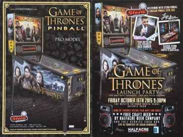 Games of Thrones Launch Party - Postkarte