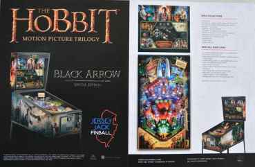 Hobbit - Black Arrow Special Edition - Flyer