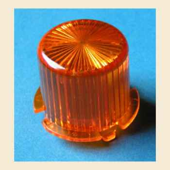 Flasher Dome Twist Cap orange