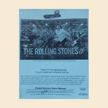Manual Rolling Stones Stern