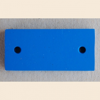 Rubber Bumper wide Gate - blau