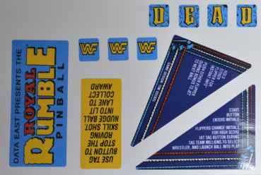 WWF Royal Rumble - Decalset