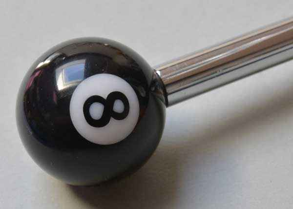Eight Ball Custom - Abschussstange