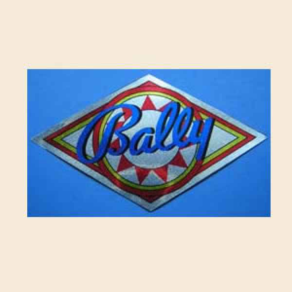 Bally - Coindoor Decal